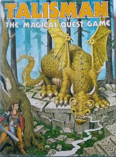 Talisman 1st Edition (EN) - The Magical Quest Game