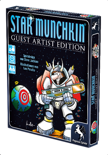 Star Munchkin – Guest Artist Edition (Peralta-Version)