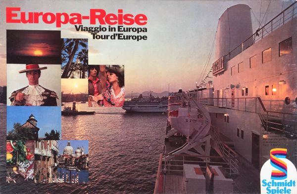 Europa-Reise - Viaggio in Europa - Tour d'Europe