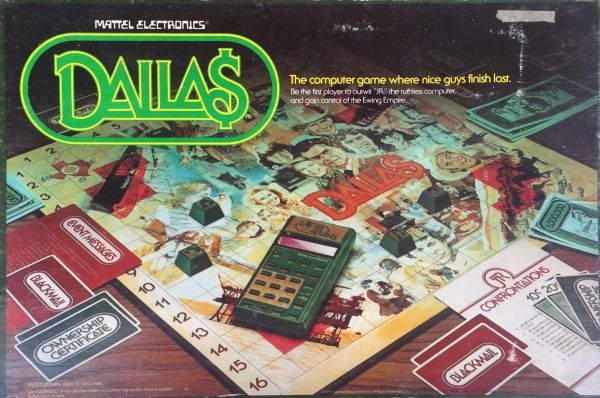 Dallas - Dalla$ - The computer game where nice guys finish last