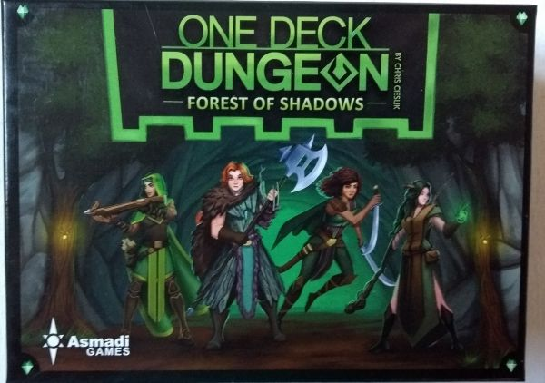 One Desk Dungeon - Forest of Shadows